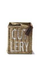 Riviera Maison Rustic Rattan Cutlery Organiser- Diverse Keuken- & Eetgerei
