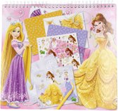 Disney Princess Sjablonen Knutselboek