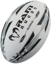 Raider Match rugbybal - Wedstrijdbal - 3D grip - Maat 4 - Rood