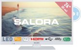 Salora 24HDW5015 - HD ready tv