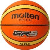 Molten Basketbal Gr Oranje Maat 5