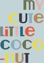 Fabs World ansichtkaart 'coconut'