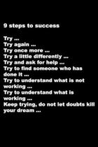 9 steps to success