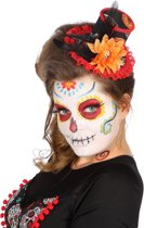 Hoed mini Day of the Dead