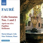 Faure: Cello Sonatas Nos. 1&2