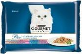 Gourmet Perle - Vis - Kattenvoer - 4 x (12 x 85g)
