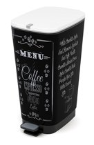 Kis Pedaalemmer Chic Bin Coffee Menu L, 8071900-1790