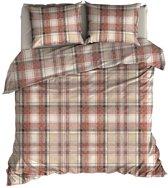 Romanette Badrutt - Dekbedovertrek - Lits-jumeaux - 270x200/220 cm + 2 kussenslopen 60x70 cm - Red