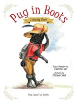 Pug in Boots - Coloring Book