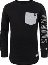 Retour Jeans Jongens T-shirt - Black - Maat 116