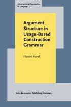 Argument Structure in Usage-Based Construction Grammar