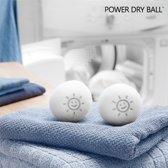 Power Dry Ball Wollen Ballen voor de Droger (pak van 2)