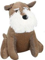 Deurstopper hond - Bruin - 26x26cm