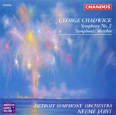 Chadwick: Symphony no 2 etc / Neeme Jarvi, Detroit Symphony Orchestra