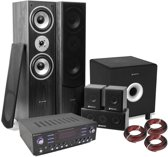 SkyTronic complete 5.1 home cinema set met 10