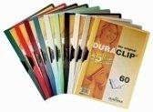 Durable Klemmap Duraclip Original 60 geel