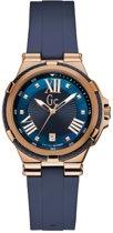 Gc Watches - Y34001L7 - Horloges - Dames -  RVS - Blauw -  36 mm