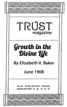 Growth in the Divine Life