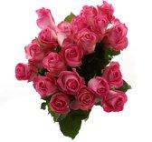 Boeket van Botanicly – Roos Candy Avalanche Large (20 stuks) – Hoogte: 60 cm , 20 takken