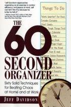 The 60 Second Organizer
