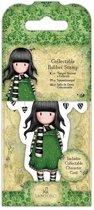 Gorjuss: Collectable Mini Rubber Stamp - Santoro - No. 26 The Scarf (GOR 907406)