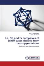 La, ND and Er Complexes of Schiff Bases Derived from Benzopyran-4-One