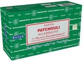 Satya Patchouli wierookstokjes 15 grams