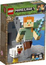LEGO Minecraft BigFig Alex met Kip - 21149