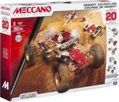 Meccano Woestijnavontuur - 20 Modellen