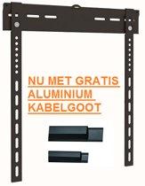 TV muurbeugel - TV1 - ultra flat TV steun - Wandbeugel - Muurbeugel voor een super platte bevestiging - TV1 FLAT