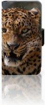 Nokia Lumia 530 Uniek Boekhoesje Luipaard