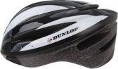 Dunlop Fietshelm Zwart/wit Maat L (58/60 Cm)