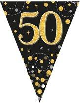 Vlaggenlijn 50 jaar Zwart Goud