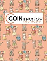 Coin Inventory Log Book