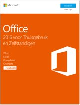Microsoft Office 2016 Home & Business, DVD (in doos)