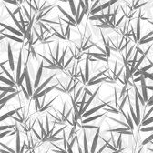 Dutch Wallcoverings vinylbehang bamboe - grijs