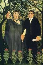 The Muse Inspiring the Poet by Henri Rousseau Journal