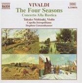 Vivaldi: Four Seasons, Concerto Alla Rustica  / Nishizaki, Gunzenhauser