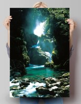 Waterval  - Poster 61 x 91.5 cm