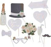 Photobooth props Beautiful Botanics 10 stuks Ginger Ray