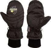 Starling Wanten Met Print - Wintersporthandschoenen - Kinderen - Zwart - Maat 3