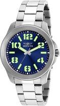 Invicta Specialty 21443 - Mannen- Horloge - Zilverkleurig - Quartz