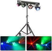 Lichteffect - MAX Partybar lichteffect met 2 Jellymoons en 2 Par spots + gratis standaard