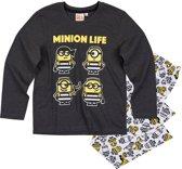 Minions-Pyjama-grijs-maat-140