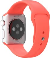 Sportbandje voor de Apple Watch - 38 mm - Koraalrood