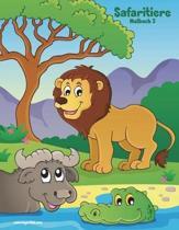 Safaritiere-Malbuch 2