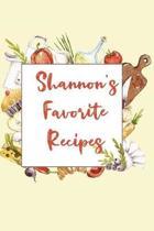Shannon's Favorite Recipes