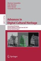 Advances in Digital Cultural Heritage