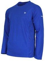 Donnay T-shirt lange mouw Multi sport - Sportshirt - Heren - Maat XXXL - Cobalt