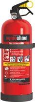 OgnioChron Brandblusser 2 kg Poeder - A-B-C- Hoogwaardige Europese productie - Rijkstypekeur